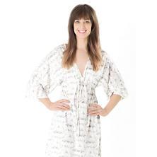 Tiki Toile Grey Nightdress