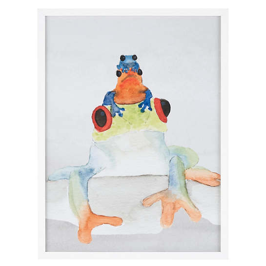 Toad Stack  Wall Art