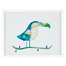 Toucan Turquoise Wall Art