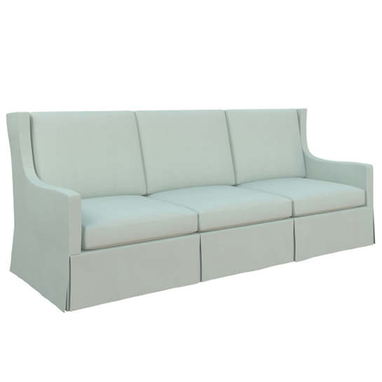 Estate Linen Powder Blue Toulouse Sofa