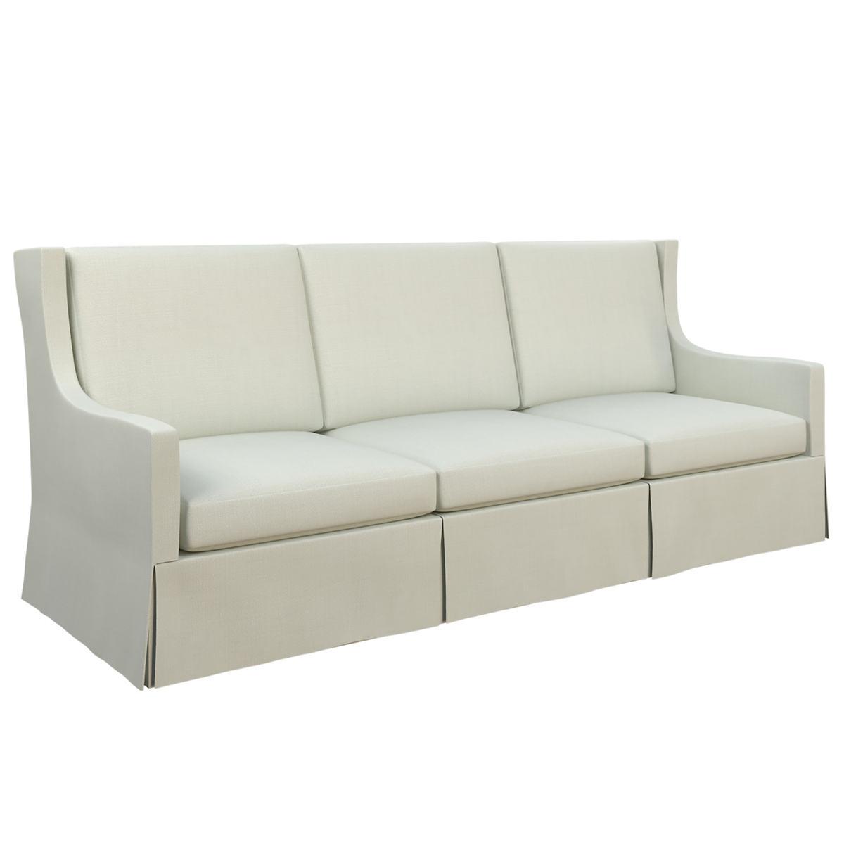 Nubby Mist Toulouse Sofa