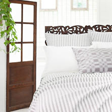 Town And Country Grey Matelassé Coverlet