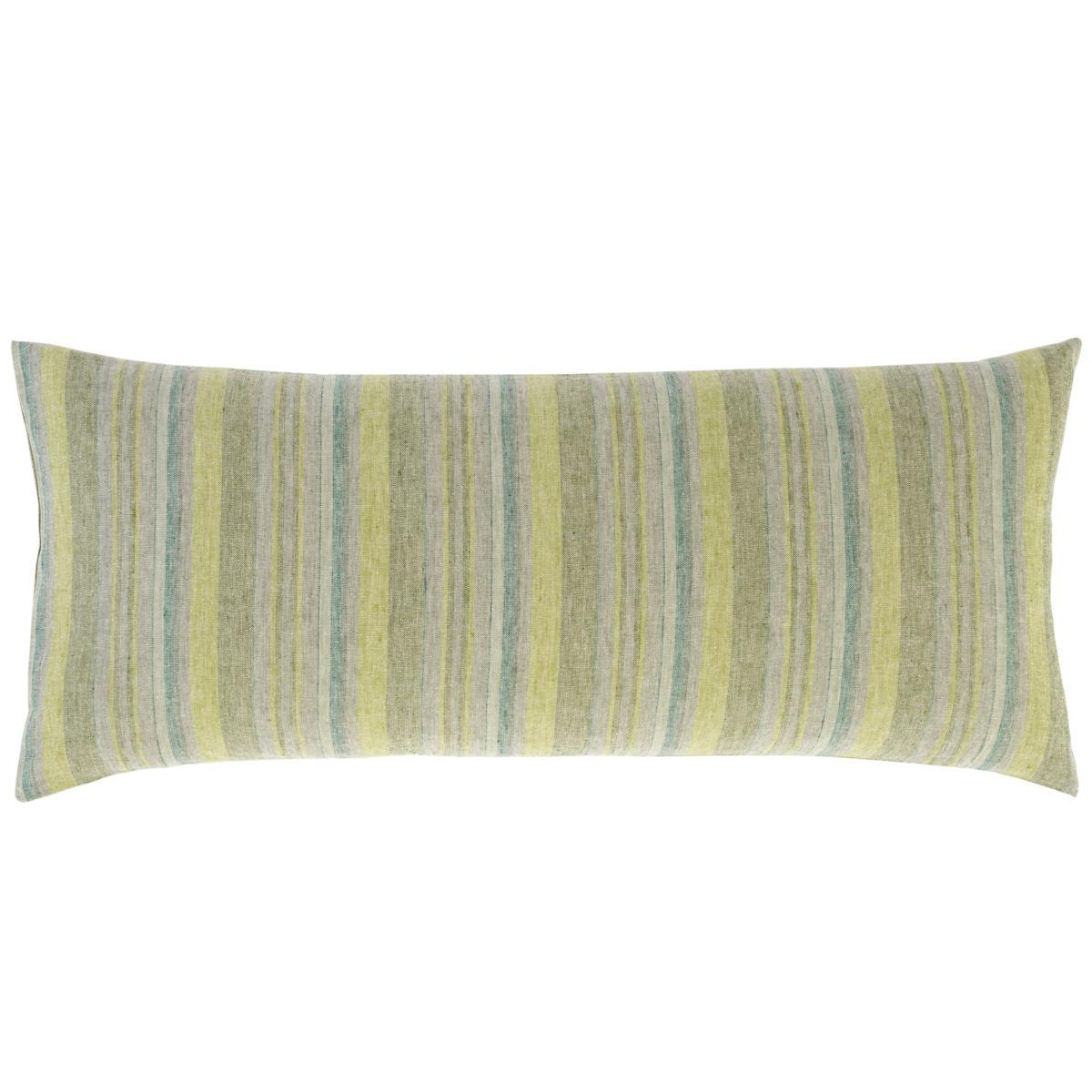 Treetop Linen Stripe Decorative Pillow