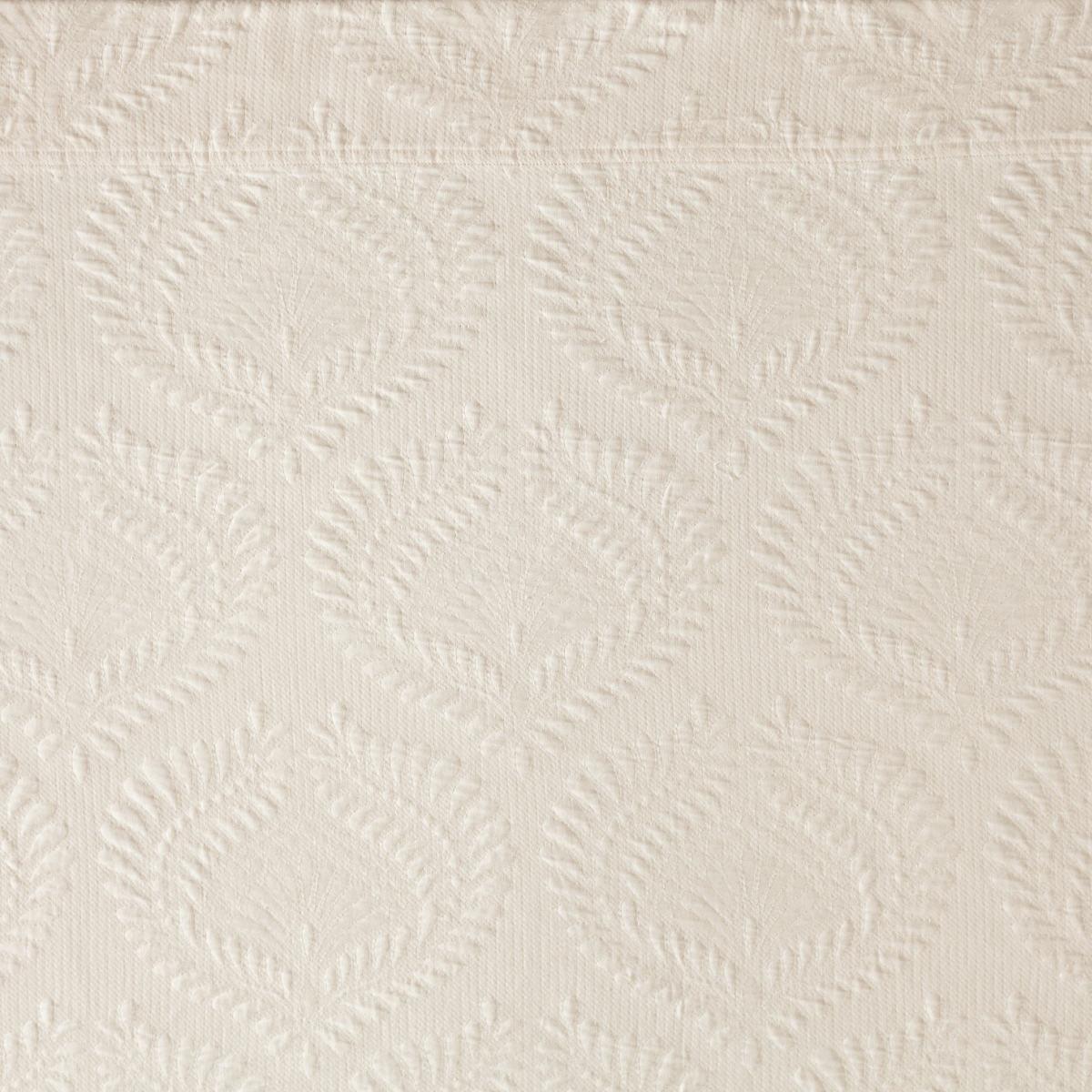 Trinita Ivory Matelassé Coverlet