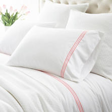 Trio Coral Pillowcases (Pair)