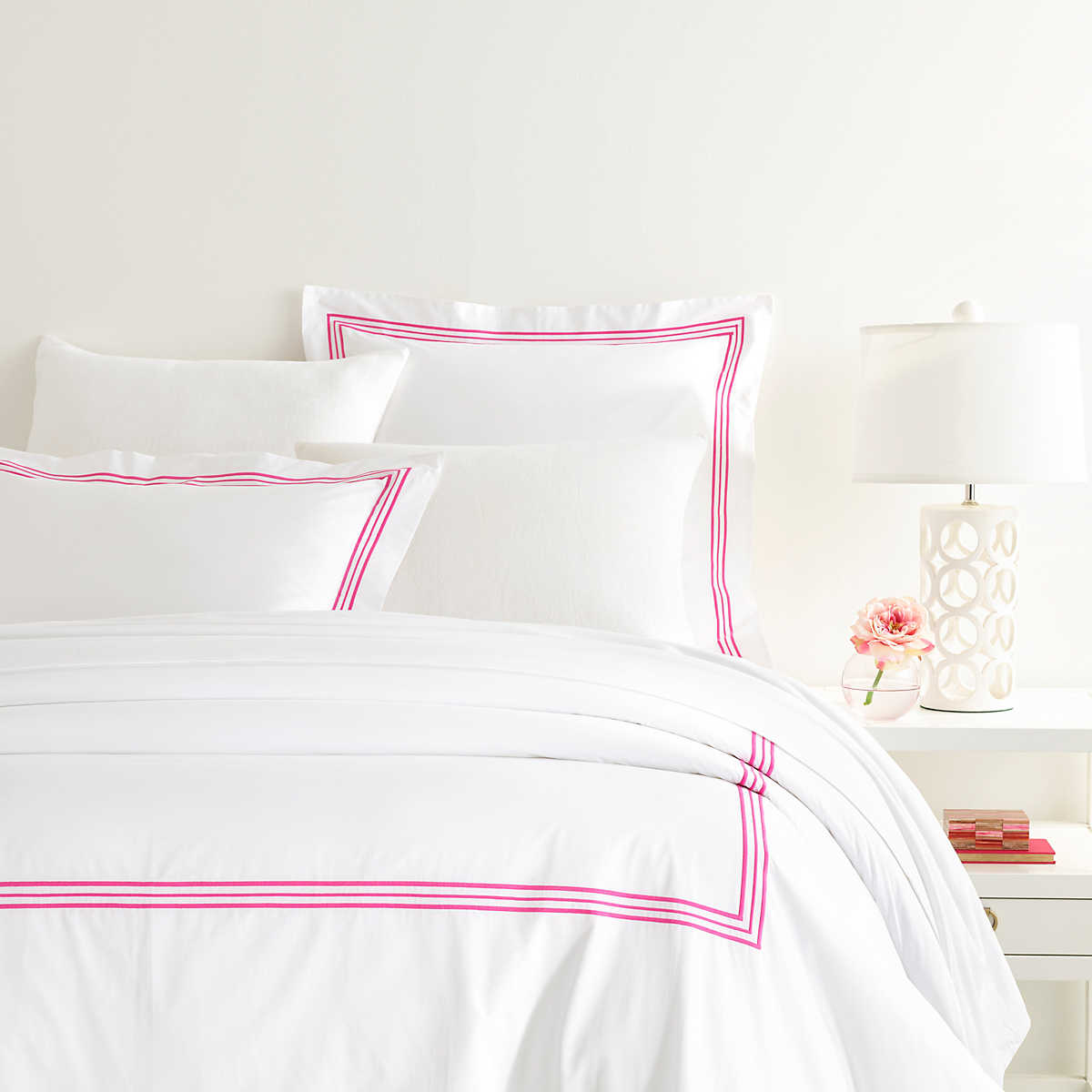 king cover super sylish double single set dyed pink products duvet plain