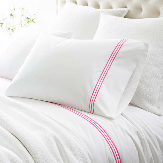 Trio Fuchsia Sheet Set