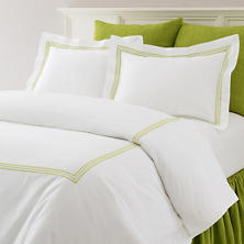 Trio Green Duvet Cover