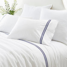 Trio Indigo Pillowcases (Pair)