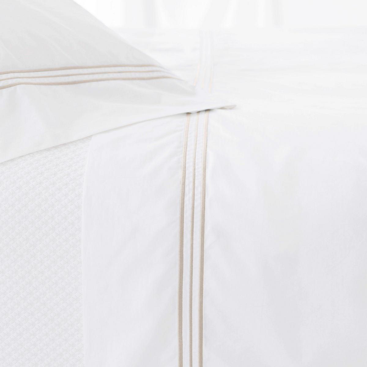 Trio Linen Flat Sheet