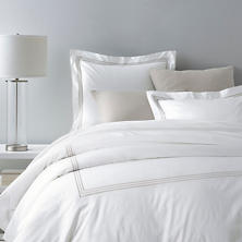 Trio Pearl Grey Duvet Cover