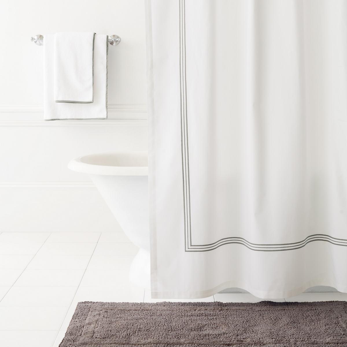 Trio Shale Shower Curtain