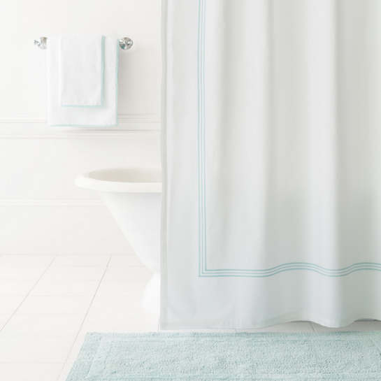 Trio Sky Shower Curtain