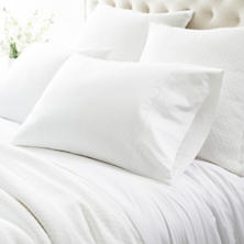 Trio White Pillowcases (Pair)