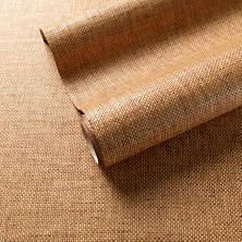 Tripoli Terracotta Grasscloth Wallpaper