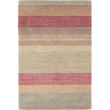 Tuscany Stripe Hand Knotted Wool Rug