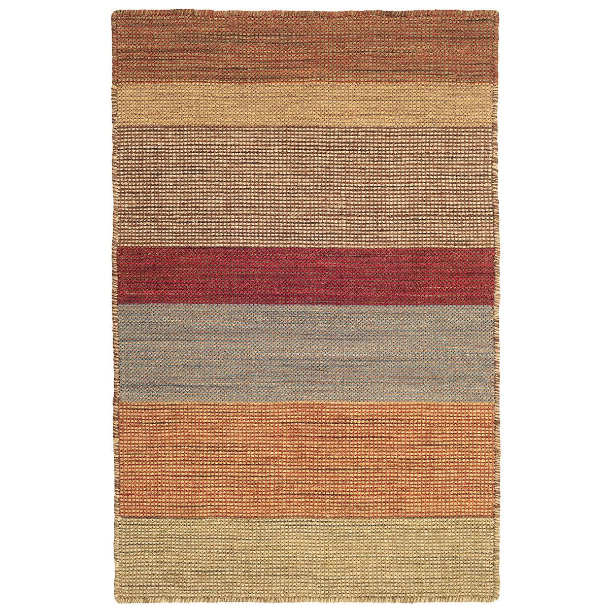 Tweed Stripe Wool Woven Rug Dash Amp Albert