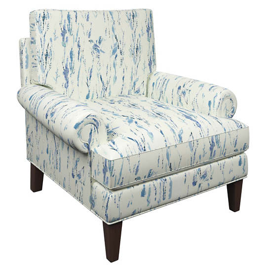 Tweet Blue Easton Chair