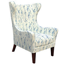 Tweet Blue Mirage Tobacco Chair