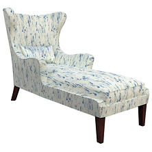 Tweet Blue Mirage Tobacco Chaise