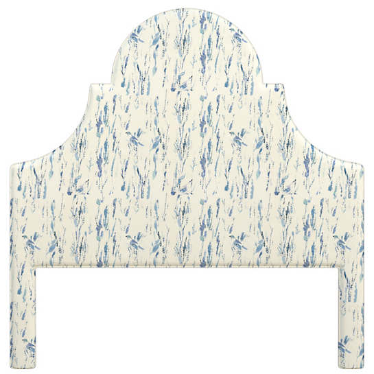Tweet Blue Montaigne Headboard