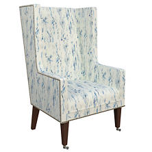 Tweet Blue Neo-Wing Chair