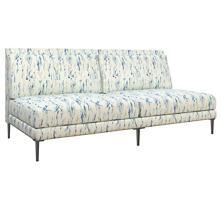 Tweet Blue Portola Sofa