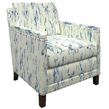 Tweet Blue Ridgefield Chair