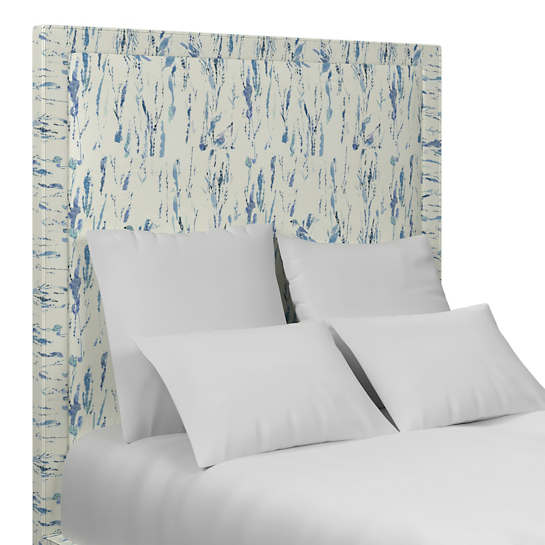 Tweet Blue Stonington Headboard