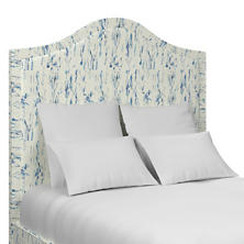 Tweet Blue Westport Headboard