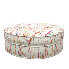 Tweet Bright Palm Court Ottoman