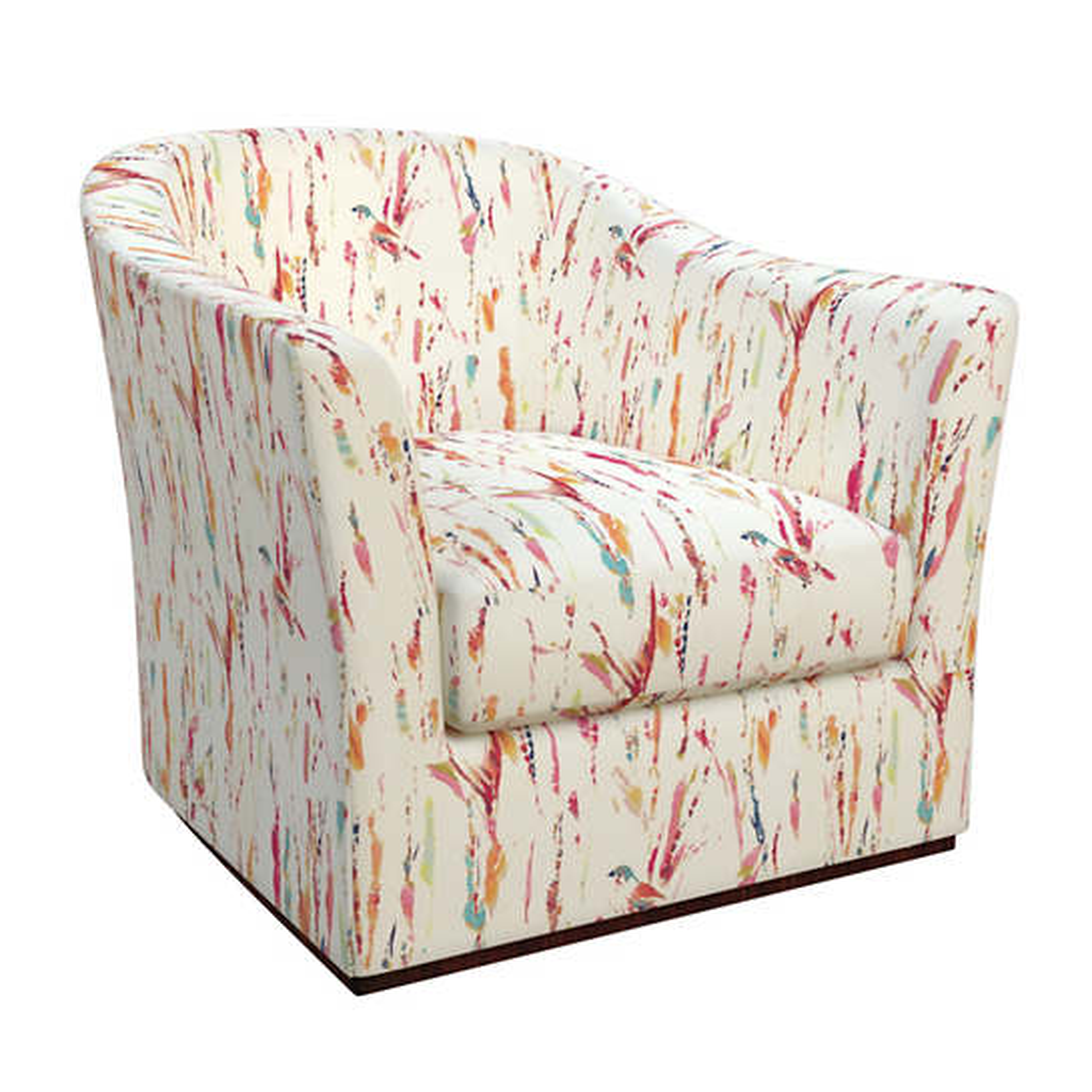 Tweet Bright Thunderbird Swivel Chair