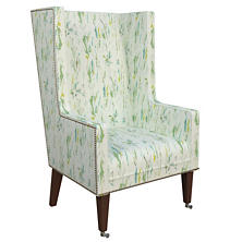 Tweet Green Neo-Wing Chair