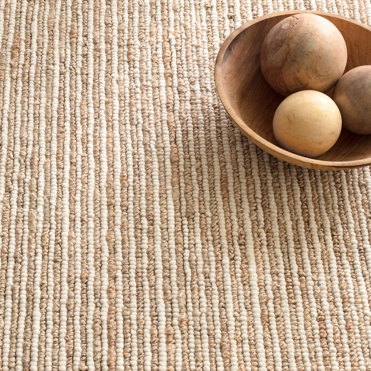 Twiggy Natural Woven Wool/Jute Rug