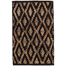 Jewel Blue Jute Woven Rug Dash Amp Albert