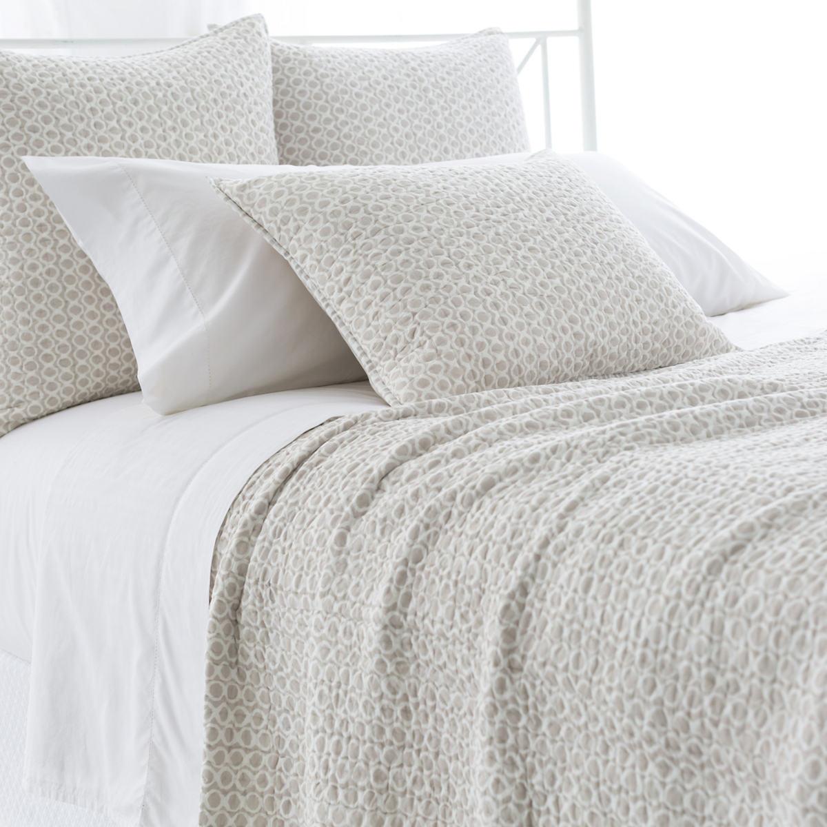 Tyler Pearl Grey Quilt