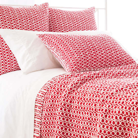 Tyler Red Quilt