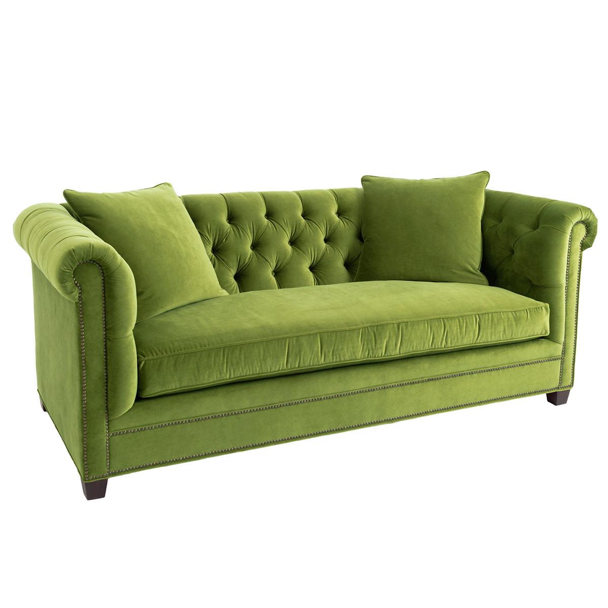 Velvesuede Evergreen Richmond Sofa