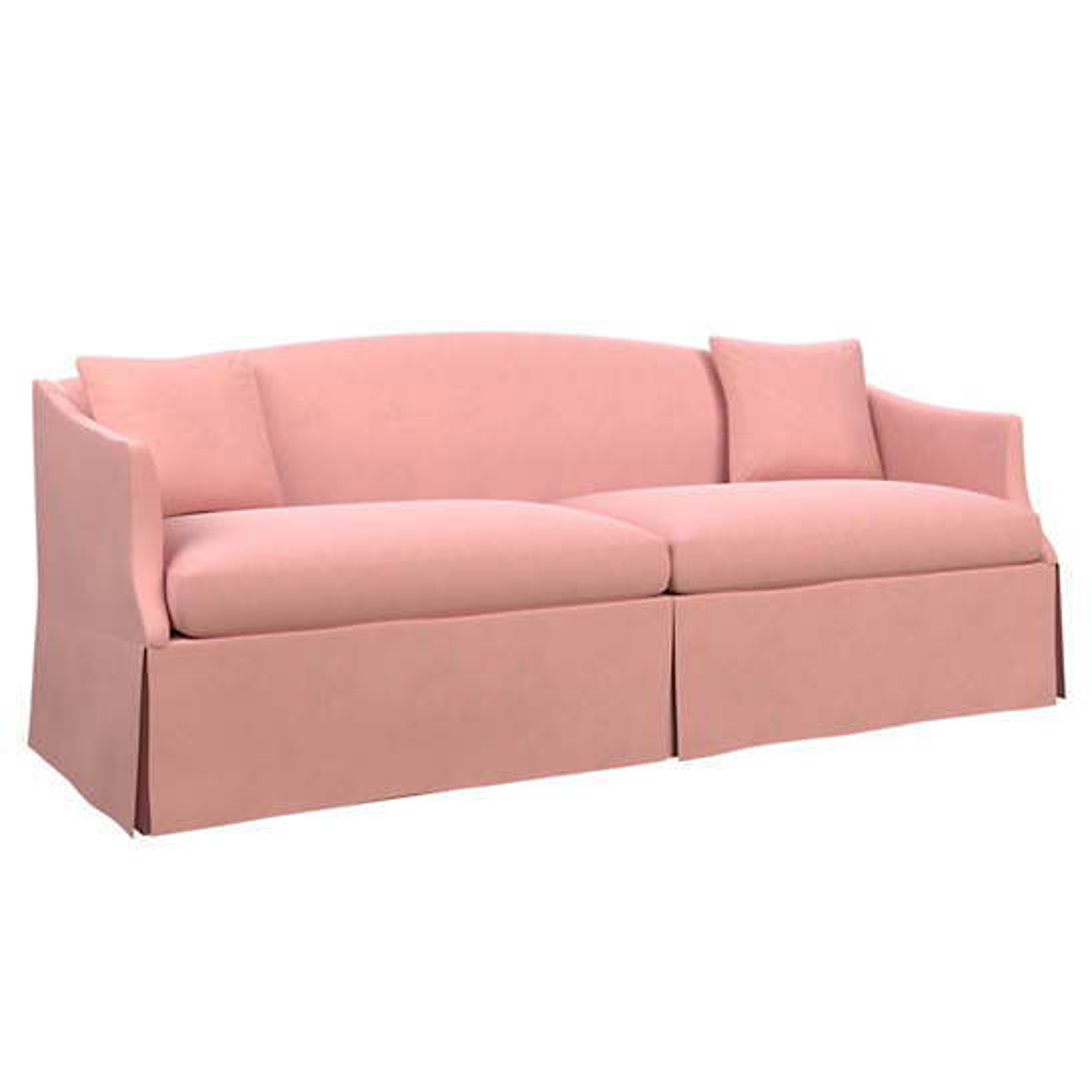 Velvesuede Lavender Rose Avignon Sofa