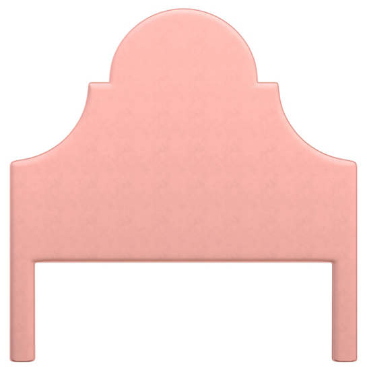 Velvesuede Lavender Rose Montaigne Headboard