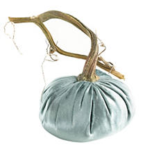 Velvet Blue Ice Pumpkin