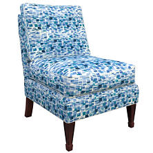 Villa Tile Blue Eldorado Chair