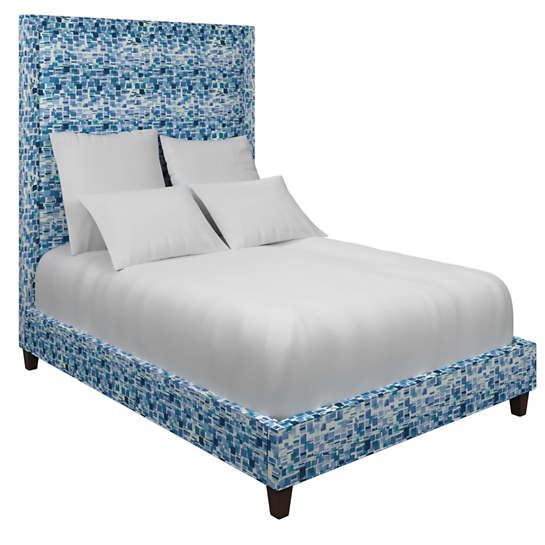 Villa Tile Blue Stonington Bed