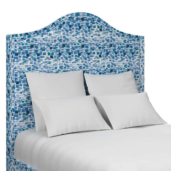 Villa Tile Blue Westport Headboard