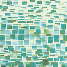 Villa Tile Green Fabric