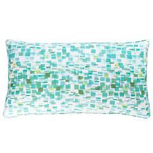 Villa Tile Linen Decorative Pillow