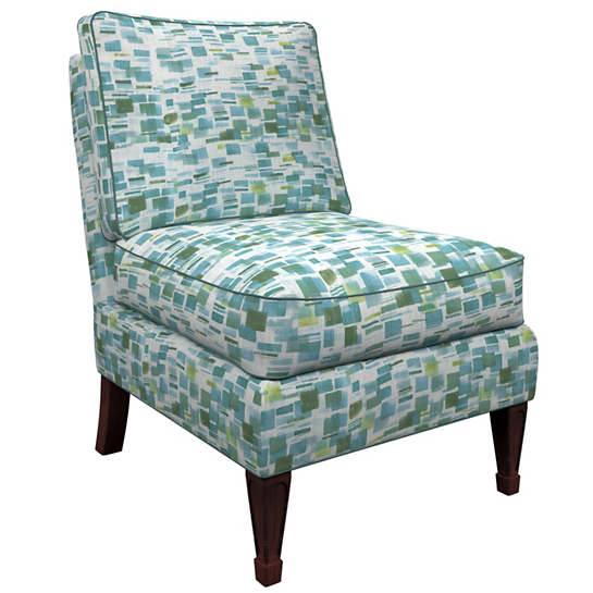 Villa Tile Green Eldorado Chair