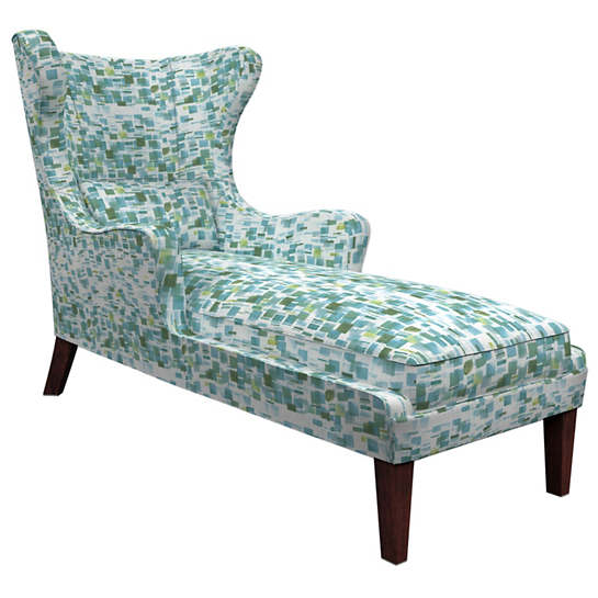 Villa Tile Green Mirage Tobacco Chaise