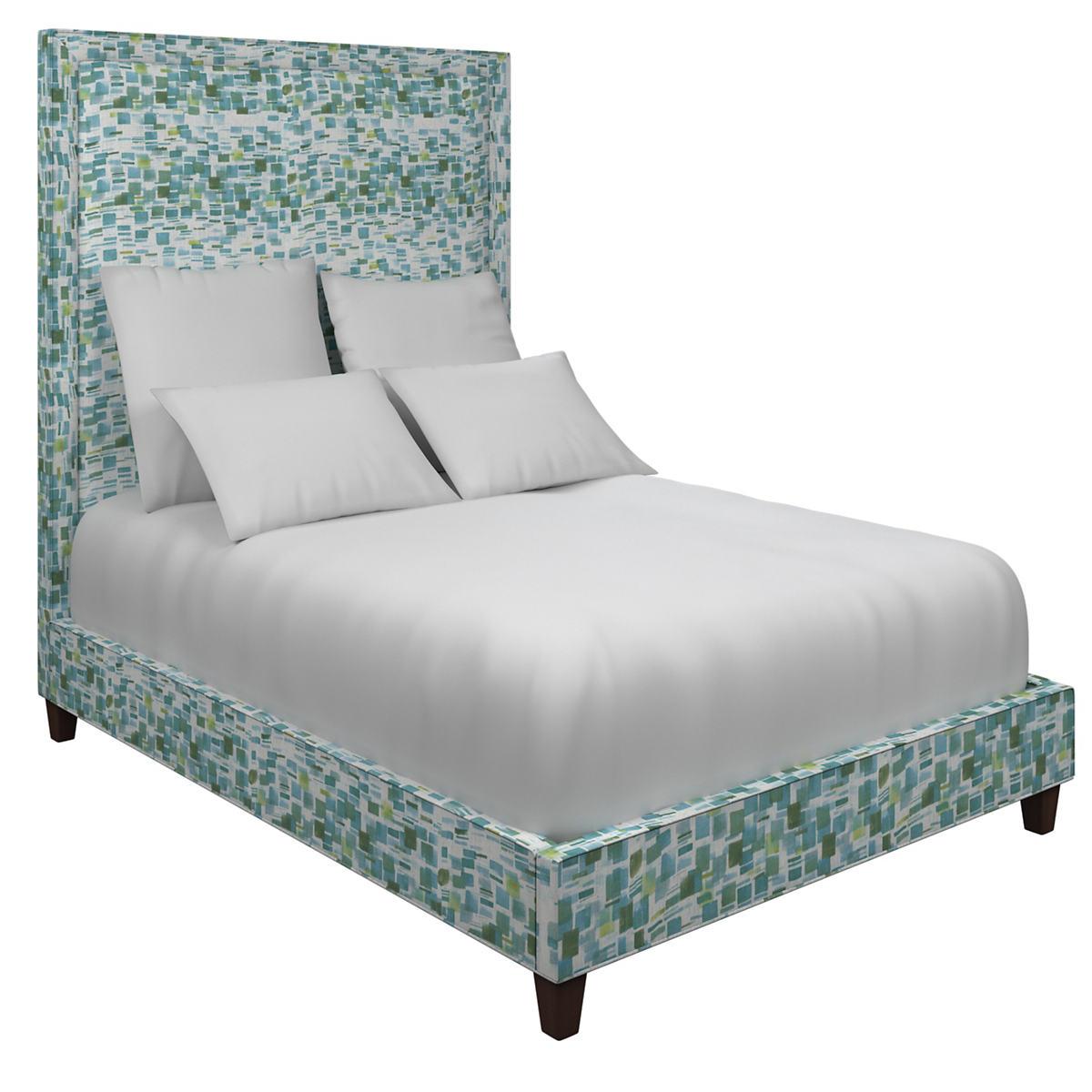 Villa Tile Green Stonington Bed