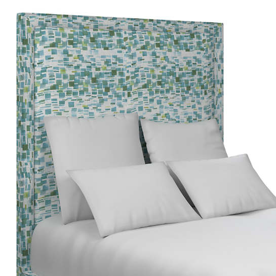 Villa Tile Green Stonington Headboard